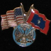 Army Veterans Flag Pin