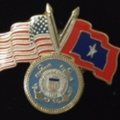 USCG Veterans Flag Pin