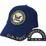 US Navy Cap with Navy Logo