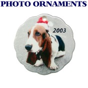 Custom Photo Ornament (or other design)