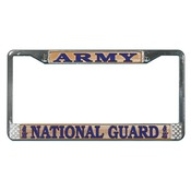 Army National Guard License Plate Frame version 2