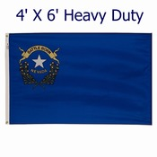 Spectrapro 4' X 6' Heavy Duty Outdoor Polyester Nevada Flag