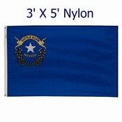 3' X 5'  Outdoor Nylon Nevada Flag (standard size)