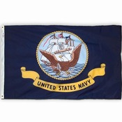 US Navy Flag, Nylon 3 X 5 MADE IN THE USA