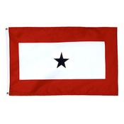 "30"" X 58"" Flagpole Service Flag MADE IN THE USA"