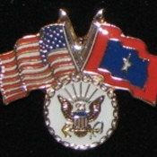 Navy Veterans Flag Pin