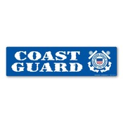 Coast Guard Bumper Strip Magnet