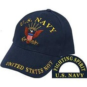 US Navy Cap (Fighting Spirit)